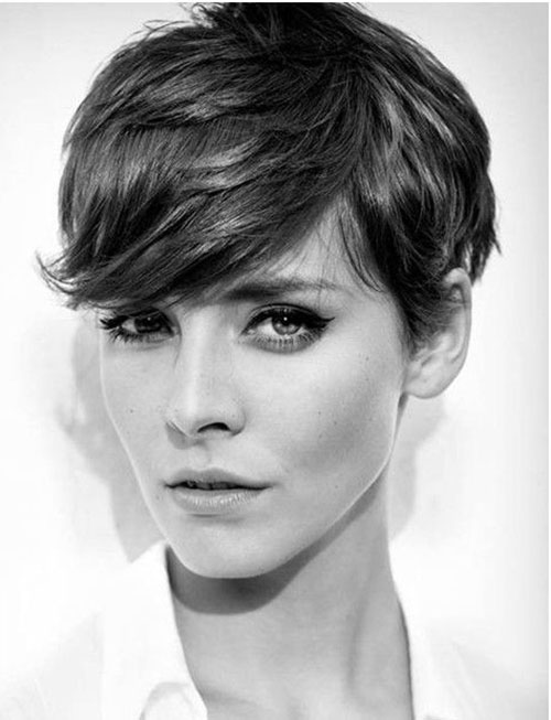 Short Pixie Haircuts for Women 2015
