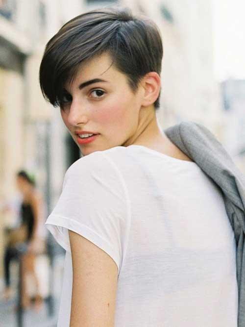 Anne Catherine Dark Short Hair