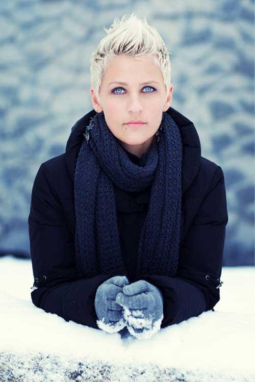 Ellen DeGeneres Pixie Hair