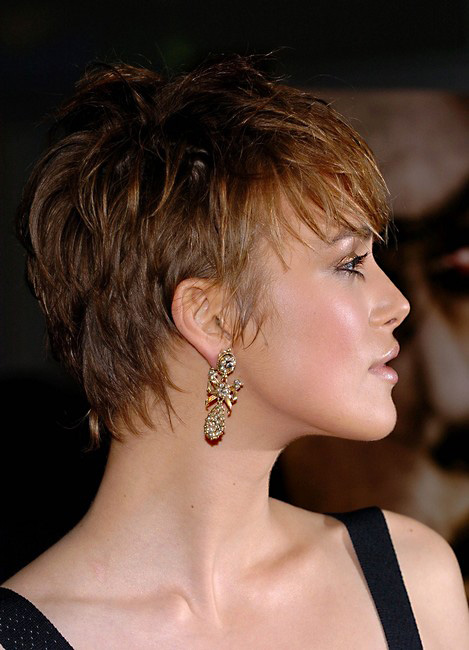 how to trim back of pixie cut