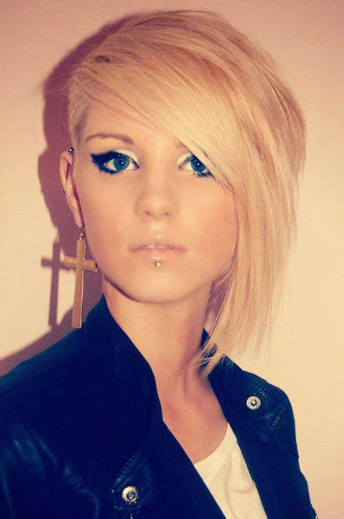 Pixie Cuts with Shaved Side-11
