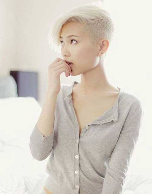Pixie Cuts with Shaved Side-12