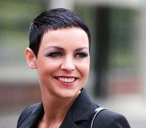 Short Dark Pixie Hairstyles-12