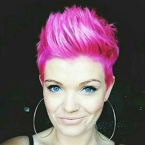 20 Pink Pixie Cuts Pixie Cut 2015