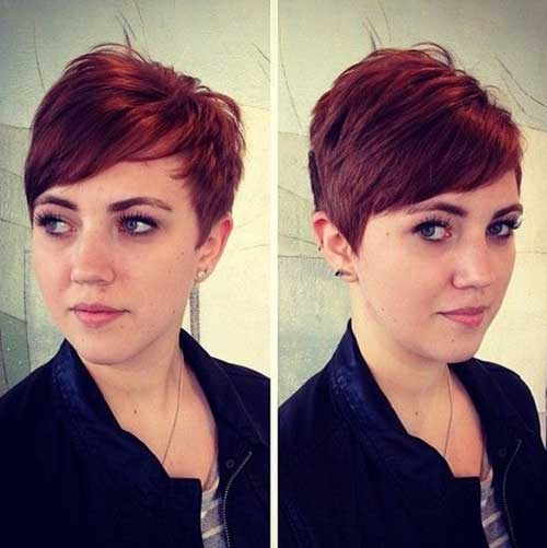 Red Pixie Cut-13