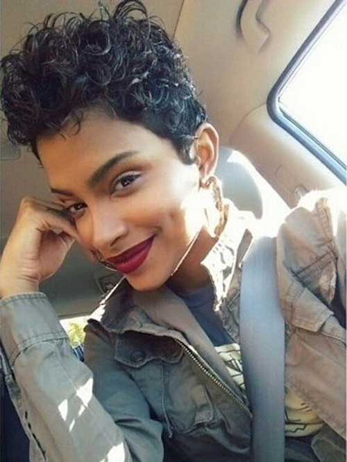 Short Curly Pixie Hairstyles-13