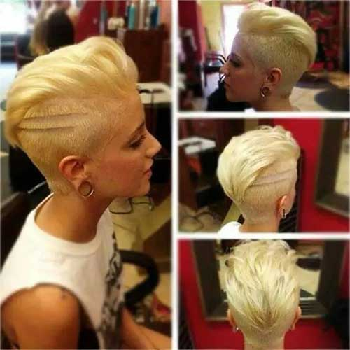 Pixie Cuts with Shaved Side-14