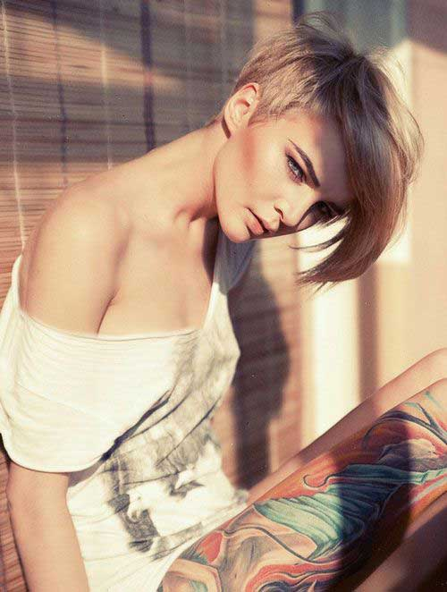 Pixie Cuts with Shaved Side-15