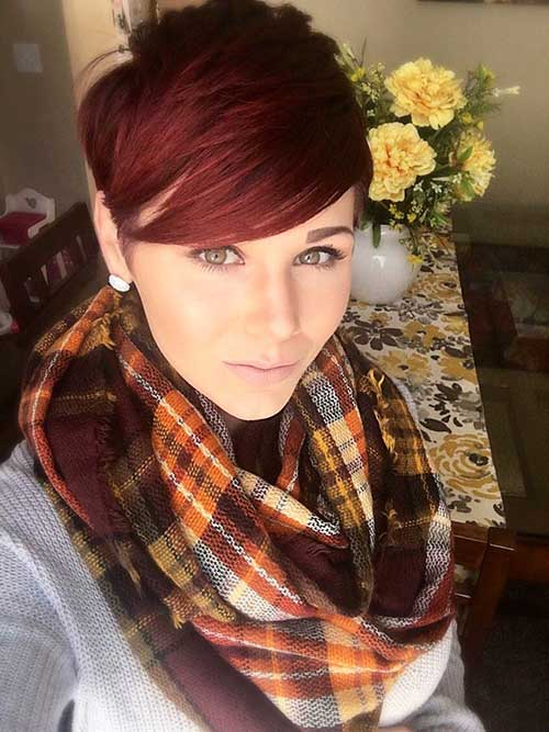 Red Pixie Cut-16