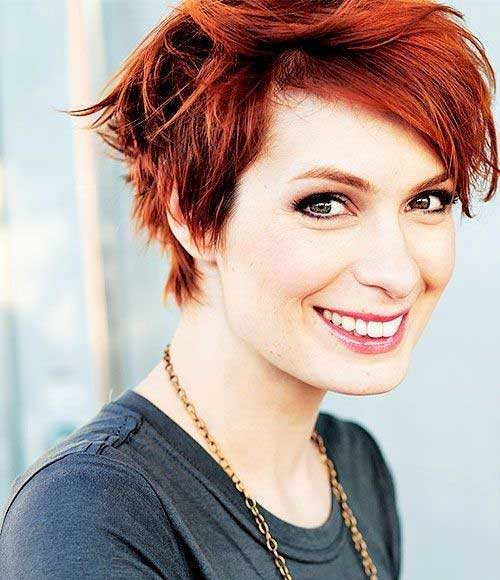 Red Pixie Cut-17