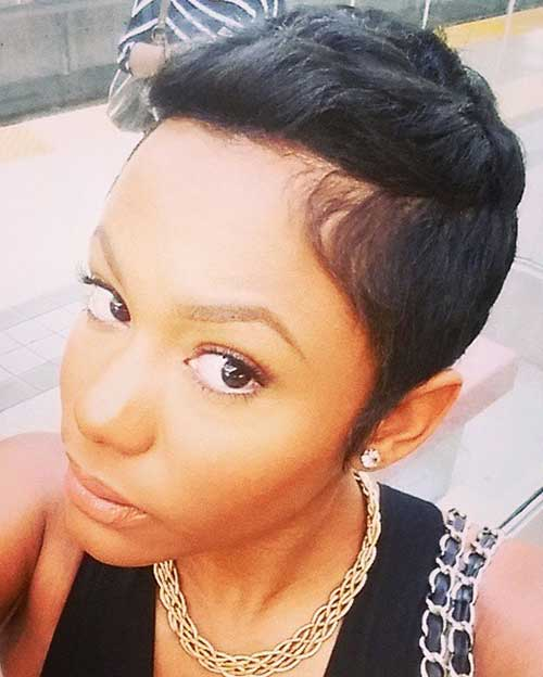 Pixie Cuts for Black Women-7