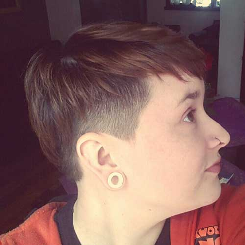 Pixie Cuts with Shaved Side-7
