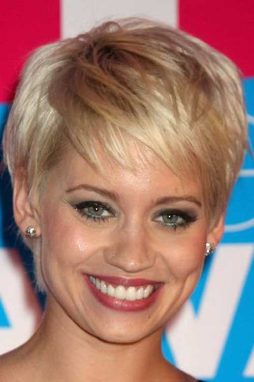 Pixie Cuts for Round Faces-8