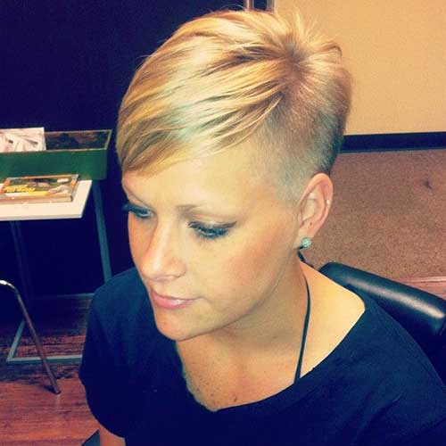 Shaved Pixie Cut-8