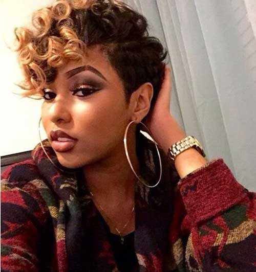Short Curly Pixie Hairstyles-9