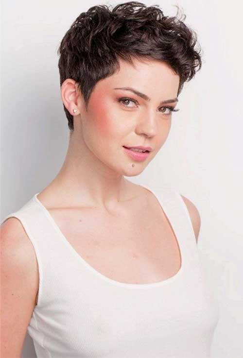 Brilliant 25 Short Dark Pixie Hairstyles Pixie Cut 2015 Short Hairstyles For Black Women Fulllsitofus