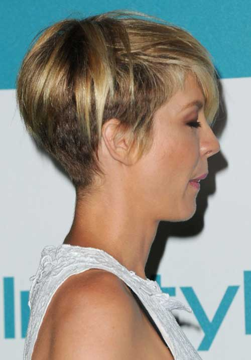Undercut Pixie Back View
