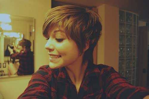 Longer Pixie Cut Style