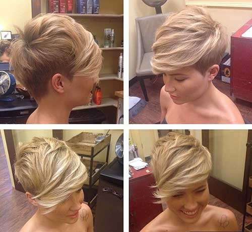 Pixie Haircuts with Bangs