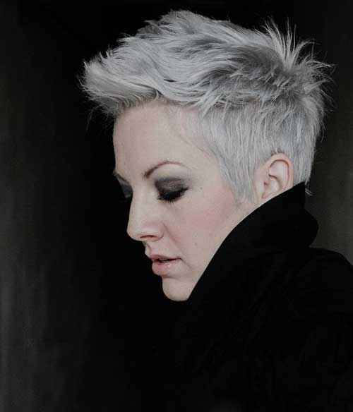 Pixie Haircut for Gray Hairs-10