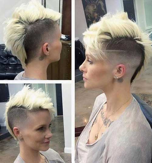 20 Cool Mohawk Pixie Cut Pixie Cut 2015