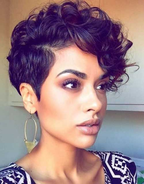 Pixie Haircut for Black Hairs-11