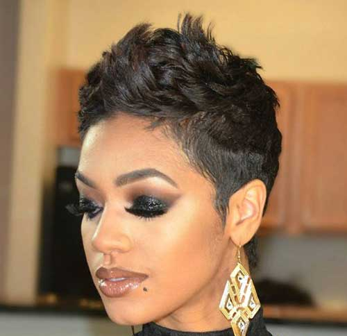Pixie Haircut for Black Hairs-12