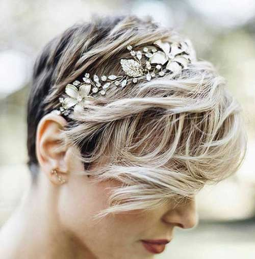 Wedding Hairstyles for Pixie Cuts-12