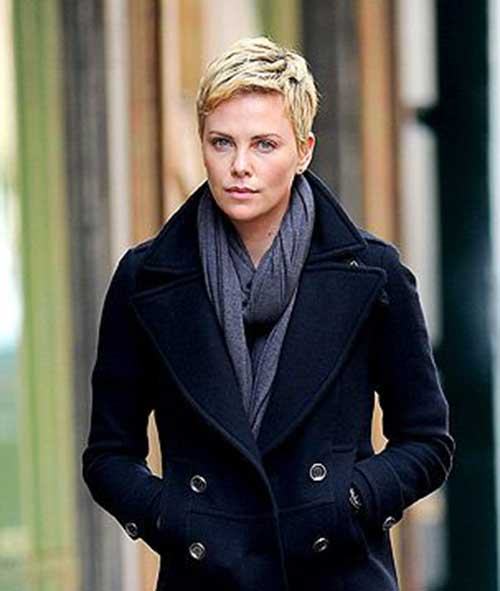 25+ Charlize Theron Pixie Haircut Pixie Cut 2015 - Black Short Hairstyles 2015