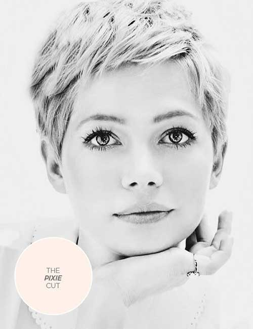 Pixie Haircut for Round Faces-15