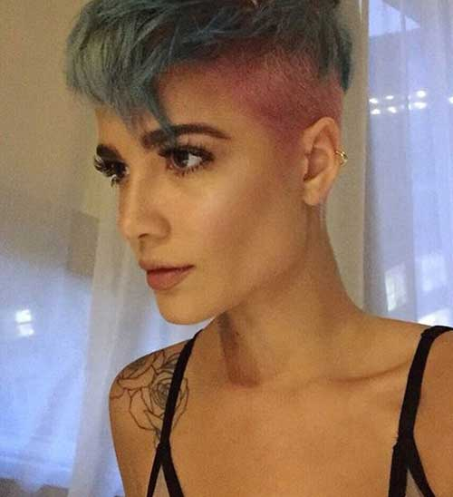 Undercuts Pixie Cuts for Badass Women-19