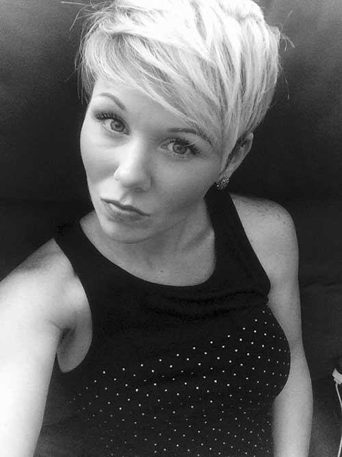 Short Funky Pixie Hairstyles-20