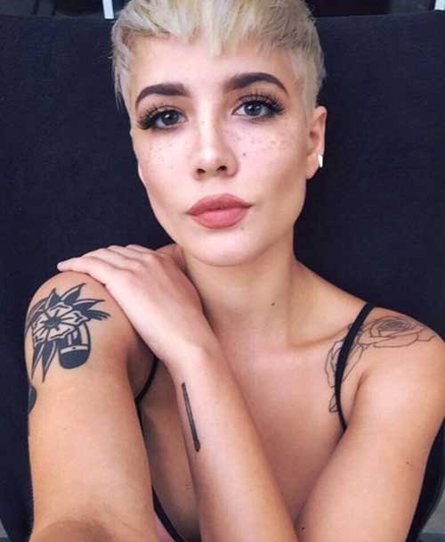 Undercuts Pixie Cuts for Badass Women-21