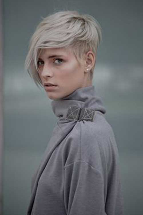 Long Pixie Hairstyles with Bangs-22