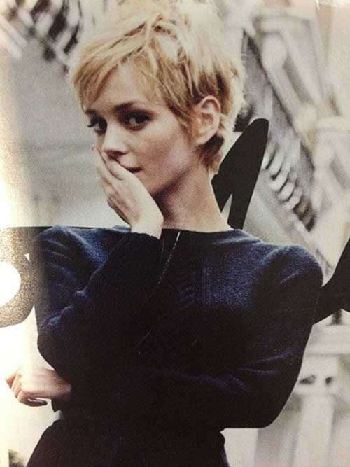 25 Messy Pixie Hairstyle Pixie Cut 2015