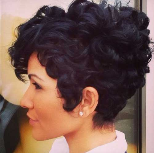 Pixie Cuts for Curly Hairs-6