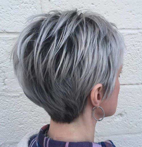 Outstanding 20 Pixie Haircut For Gray Hair Pixie Cut 2015 Short Hairstyles For Black Women Fulllsitofus