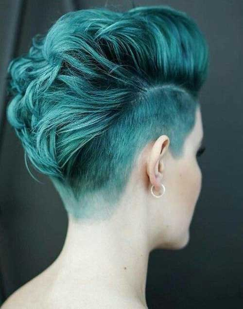 Undercuts Pixie Cuts for Badass Women-8