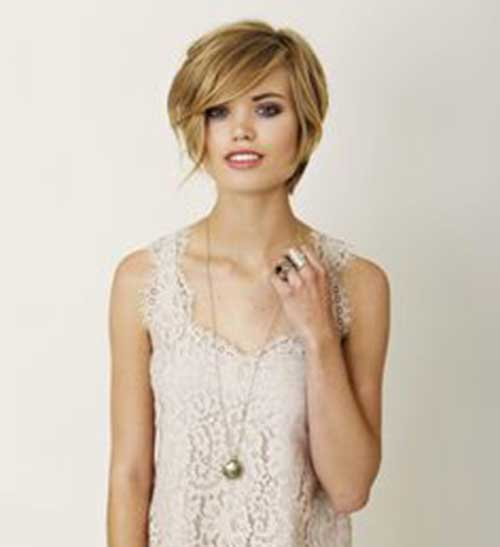 Long Pixie Hairstyles with Bangs-8