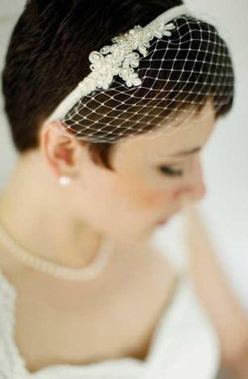 Wedding Hairstyles for Pixie Cuts-8