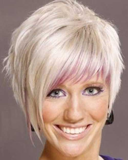 Long Pixie Hairstyles with Bangs-9