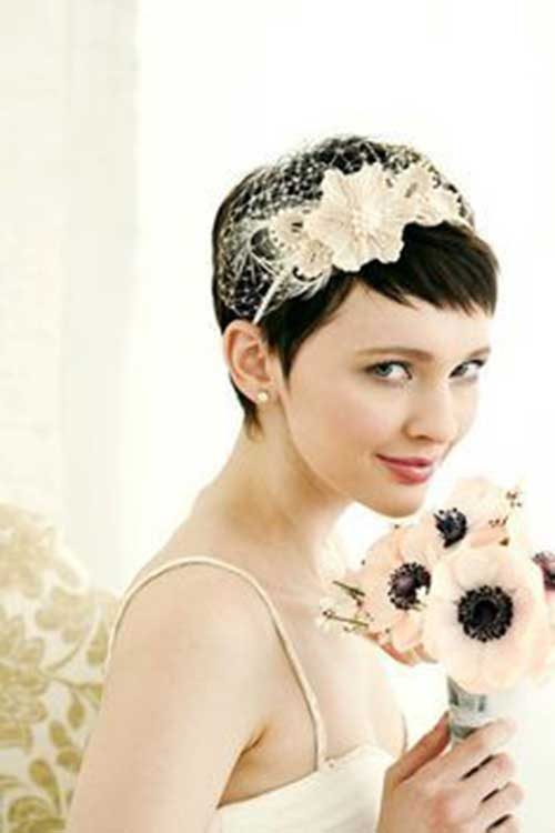 Wedding Hairstyles for Pixie Cuts-9