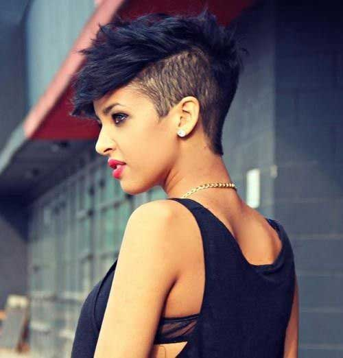 Badass Women with Shaved Pixie Cuts