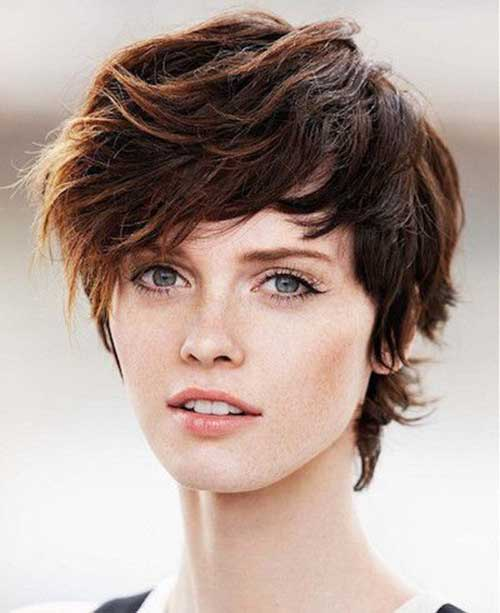 Cool Messy Pixie Cuts