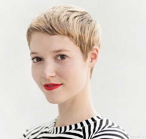 Pixie Cuts with Short Fringe