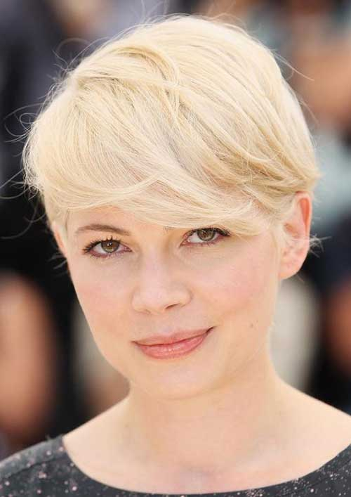 Pixie Cuts for Round Faces
