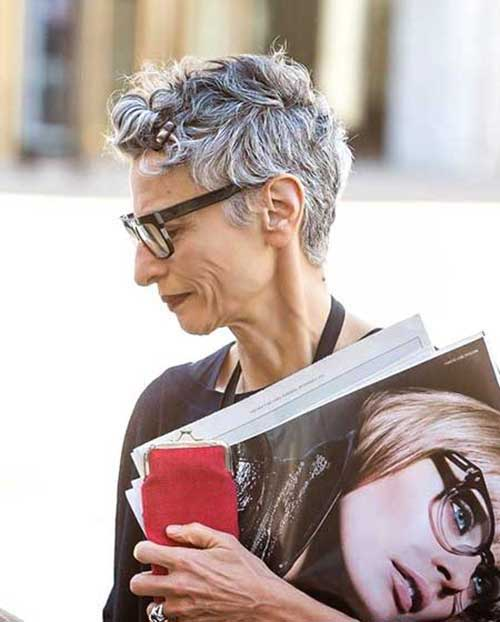 Pixie Haircuts for Older Ladies
