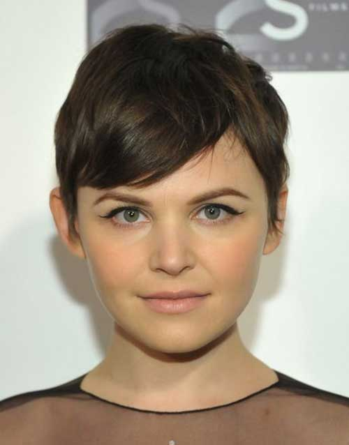 Pixie Haircut for Round Faces