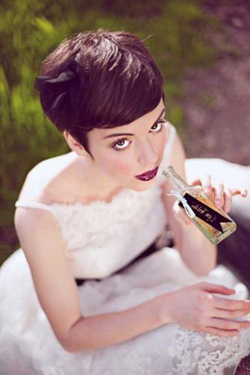 Pixie Wedding Hairs