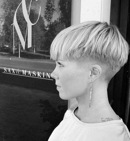 Undercut Pixie Hairstyles for Badass Women